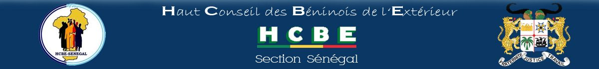 HCBE – Section Sénégal